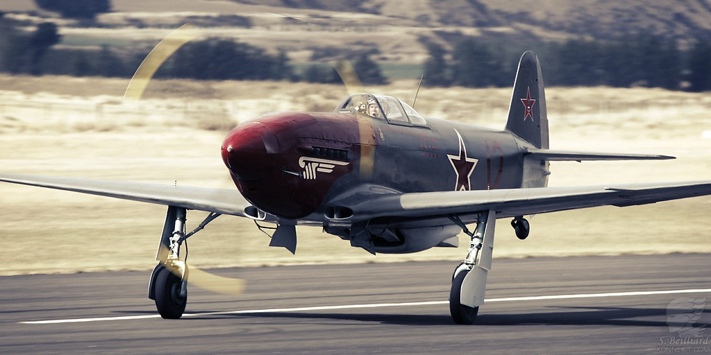 Yak3 taking-off