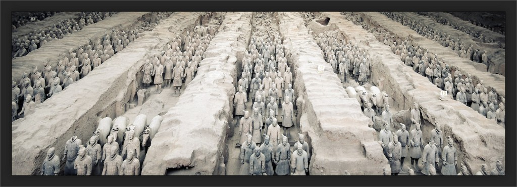Terracotta Army Pano