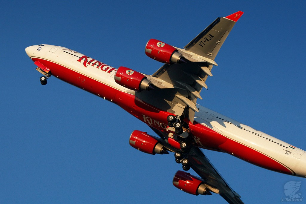 Airbus A340-500 Kingfisher