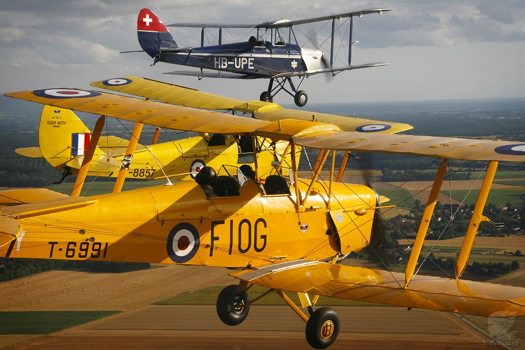 DeHavilland Tiger Moth & Moth Major