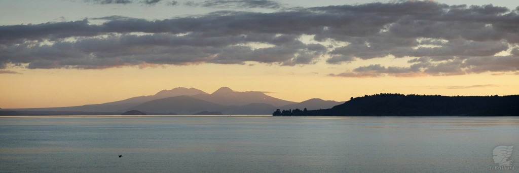 Lake Taupo and Volcanos