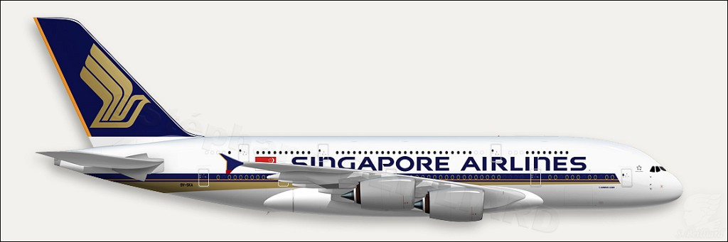 Singapore Airlines - MSN003