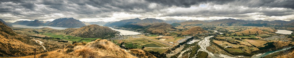 Queenstown area pano