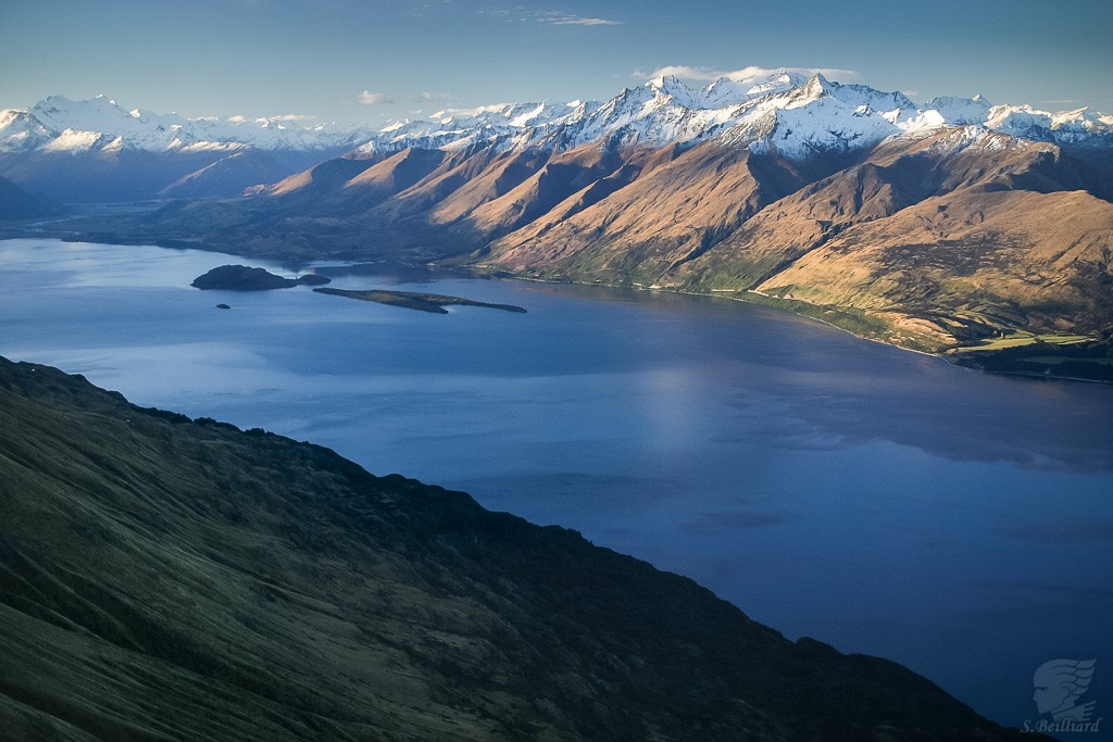 From Above : Lake Wakatipu & Glenorchy