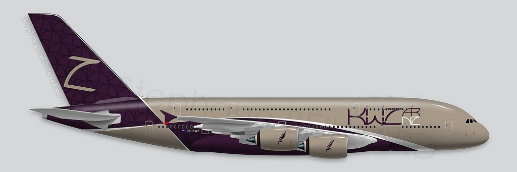 Airbus A380 Illustrations