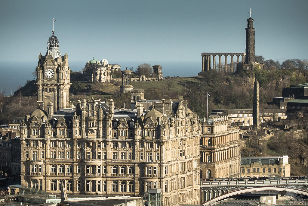Balmoral and Calton Hill