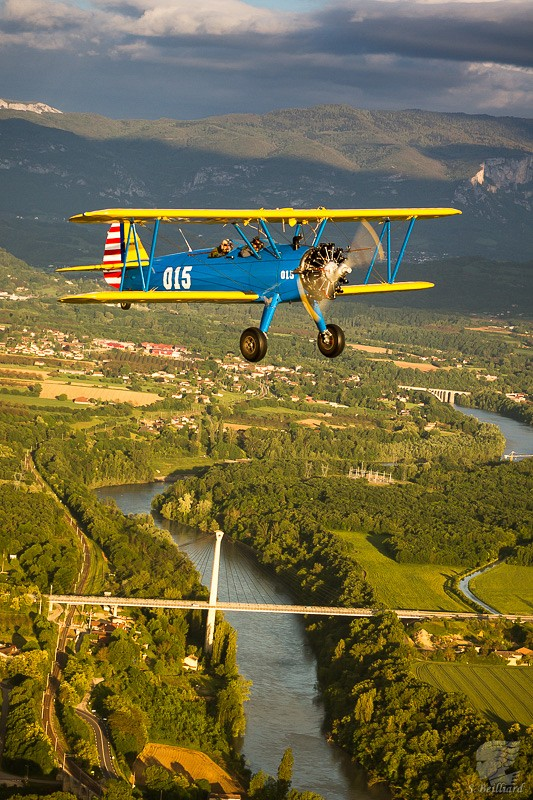 Stearman Air-to-Air 4