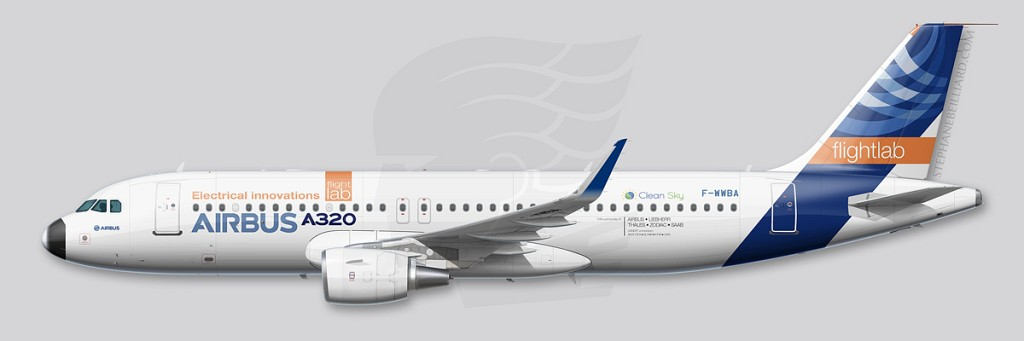 Airbus A320 profile - MSN1 2016