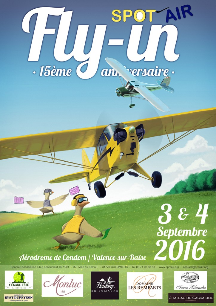 Fly-in Spot'Air 2016