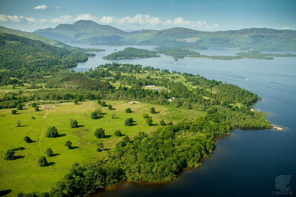 Highlands from Above - Golf