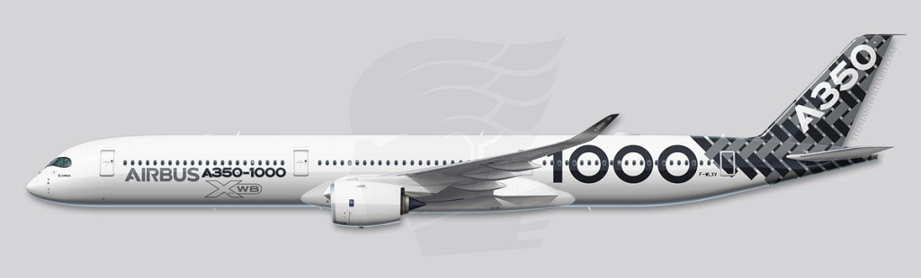 A350 Profile Illustration