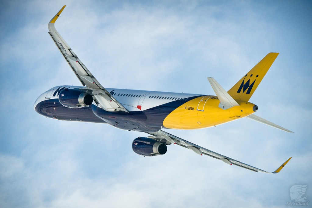 A321 Monarch with Sharklets