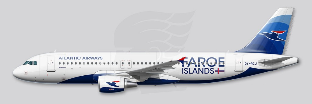 Airbus A320 profile - Atlantic