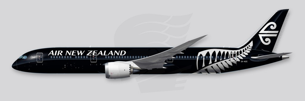 Boeing 787-9 - Air New Zealand