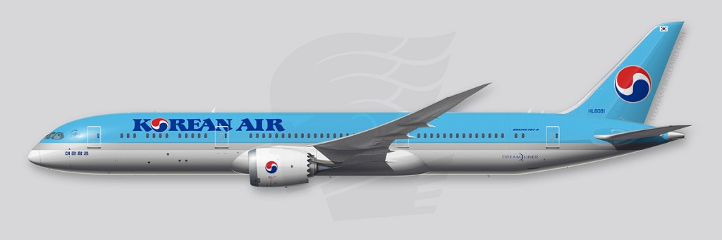 Boeing 787 Profile - Korean Air