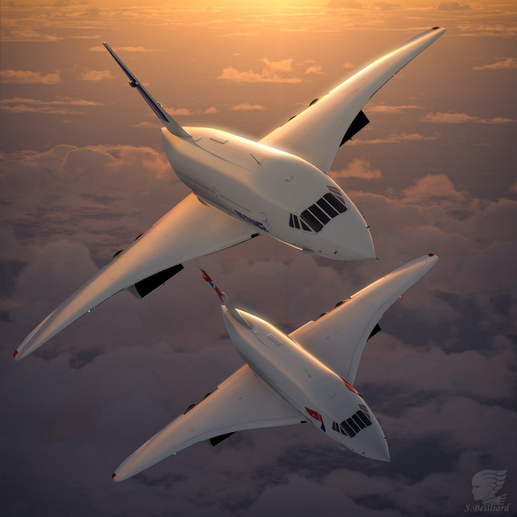 Concorde Redux 07 - Sunset Duo