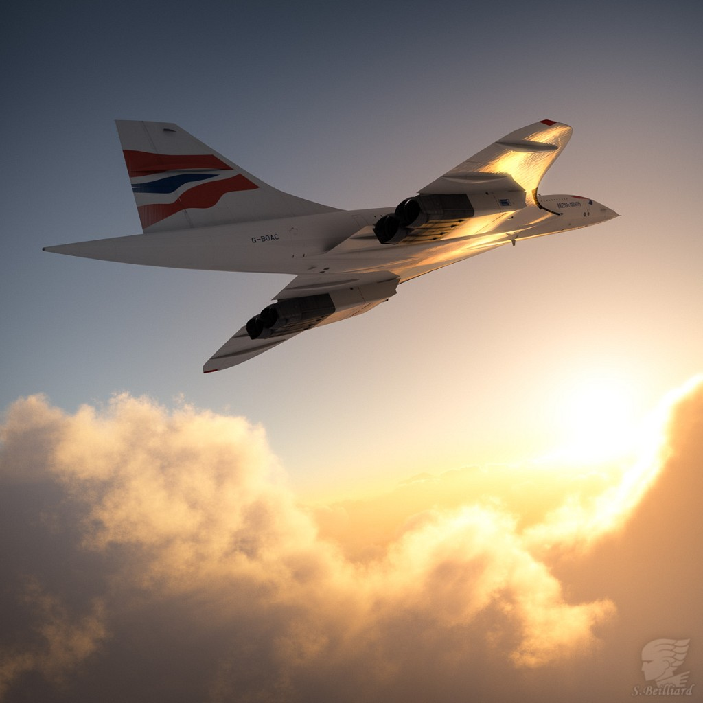 Concorde Redux 11 - Toward Sunset