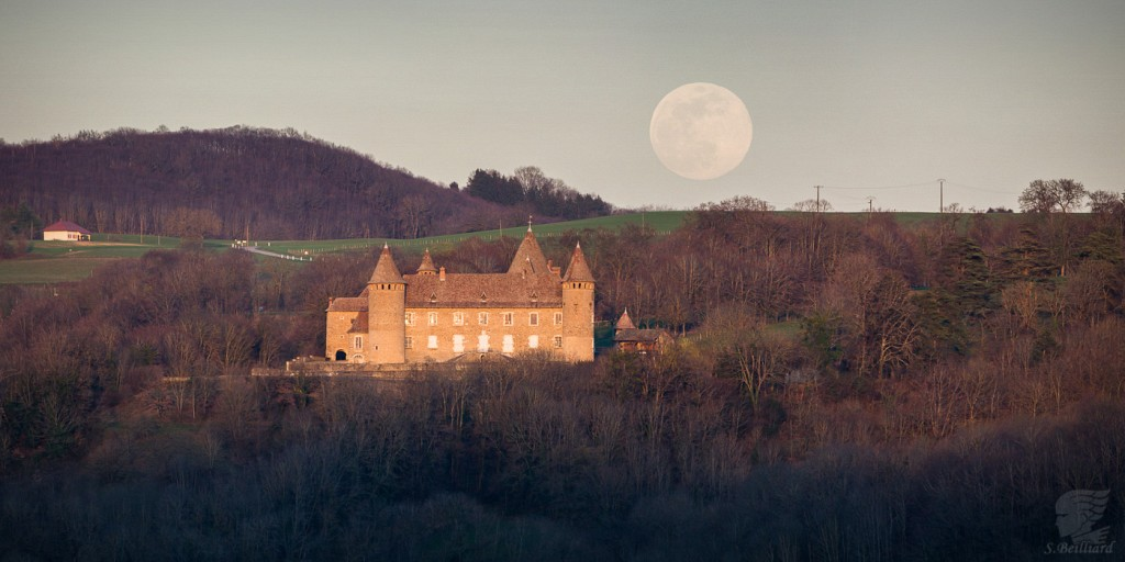 Full Moon at Virieu