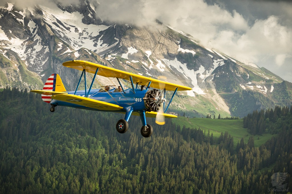 Stearman in Aravis