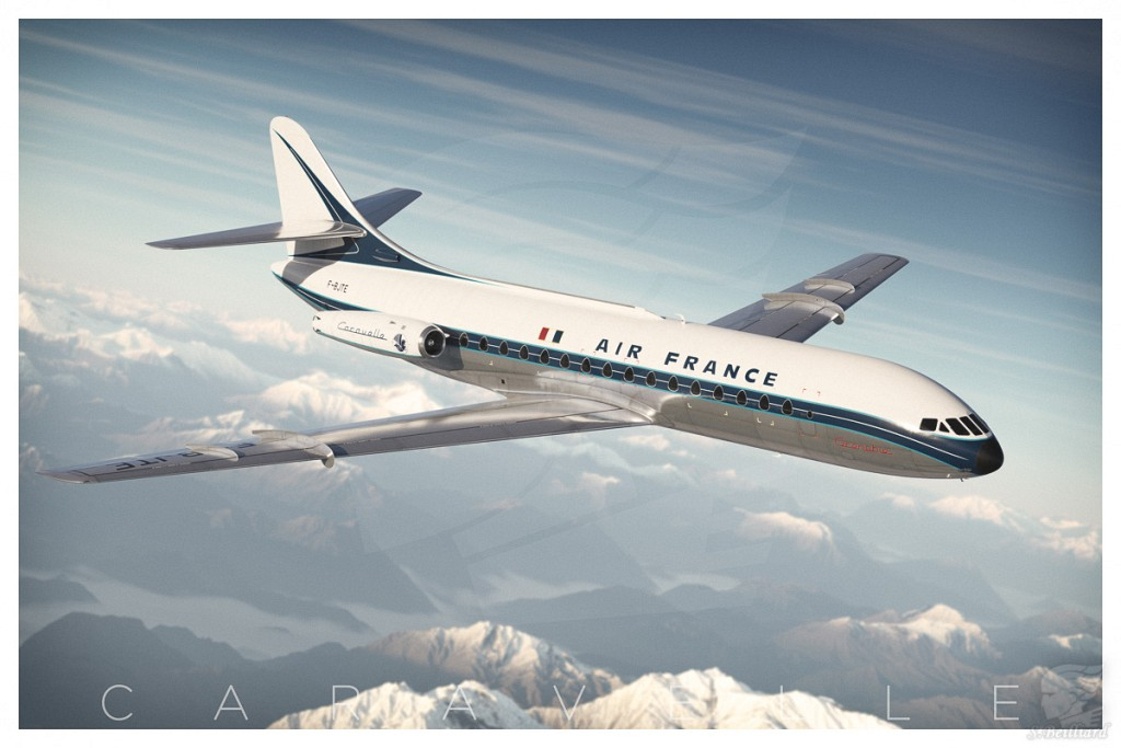 Caravelle 001 - Alpine Flight